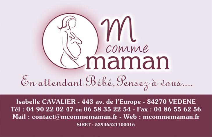 Exemple De Ralisations M Comme Maman Carte Visite